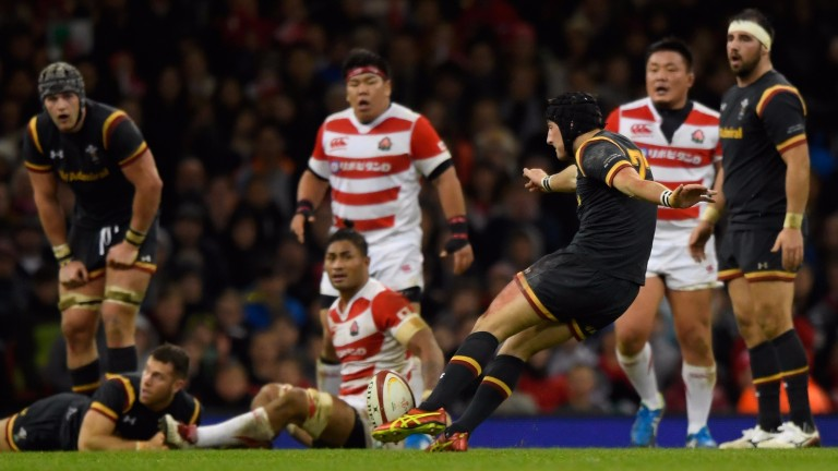 Sam Davies kicked a winning drop goal against Japan in the autumn