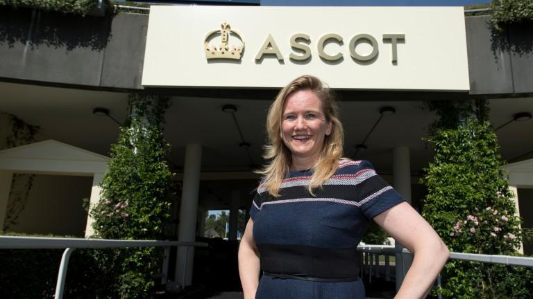 Ascot commercial director Juliet Slot under Ascot's new branding