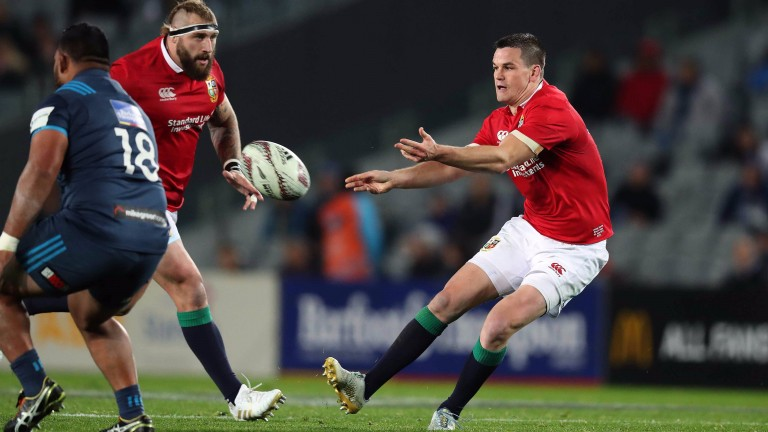 Jonathan Sexton starts for the Lions against the Maori All Blacks