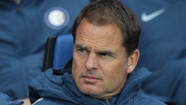 Frank de Boer is currently out of work