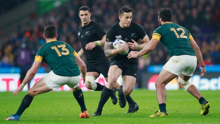 Sonny Bill Williams will line up in the midfield for the All Blacks