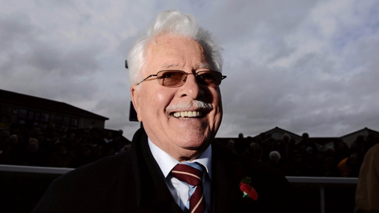 Jim Lewis, owner of three-time Cheltenham Gold Cup winner Best Mate, is 83
