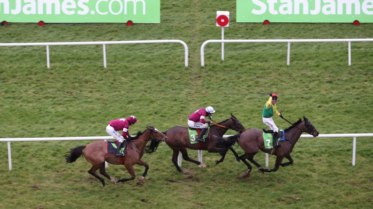 The Irish Gold Cup is the feature race on day two of next month's Dublin Racing Festival