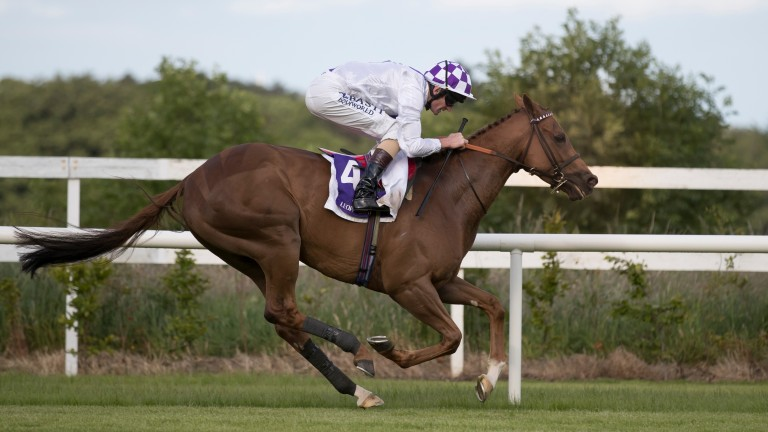 Flight Risk and Kevin Manning run out impressive winners of the Group 3 Ballycorus Stakes