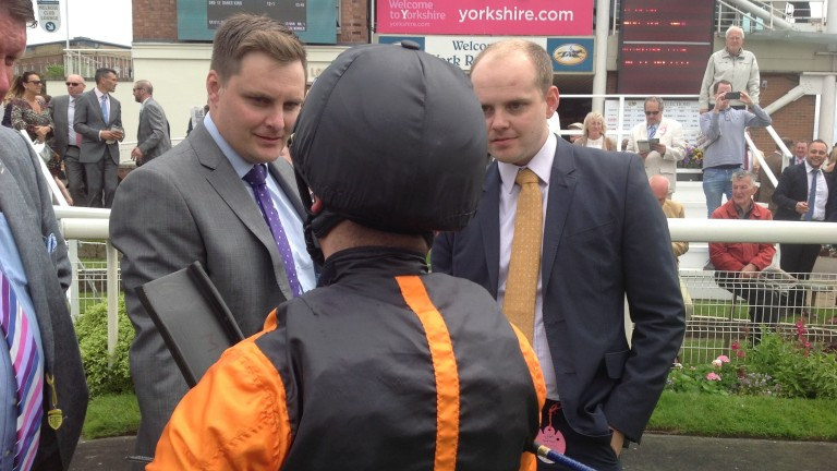 Owners Chris (left) and Martin Dixon hope for another victory for Big Country