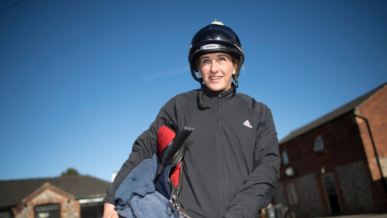 Josephine Gordon: handed plum ride on favourite Gymnaste in the Sandringham Handicap