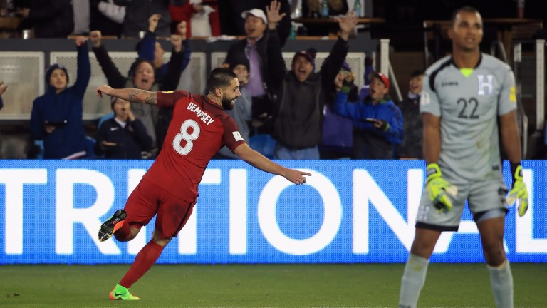 USA midfielder Clint Dempsey is playing well for Seattle