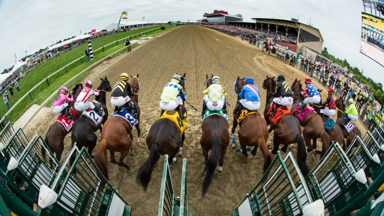 Pimlico: where Hansel won the Preakness Stakes in 1991