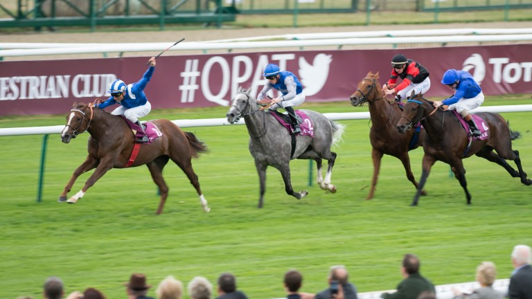 Taareef wins the Prix Daniel Wildenstein over course and distance last October