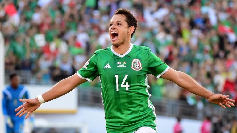 Mexico's record goalscorer Javier Hernandez