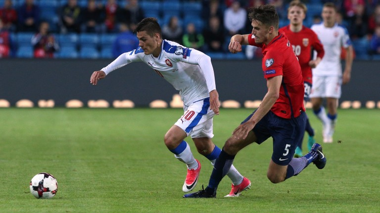 Czech striker Patrik Schick will test Germany's defensive resolve