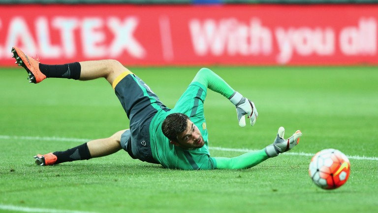 Australia goalie Mathew Ryan has just signed for Brighton