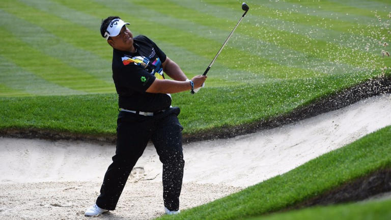 Kiradech Aphibarnrat is 2-1 to triumph at The Dutch