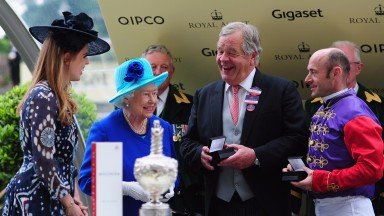 The Queen will be without the services of Olivier Peslier aboard Dartmouth in the Hardwicke Stakes on Saturday
