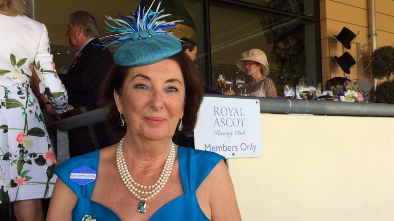 It was a big day at Ascot for the Countess of Coventry