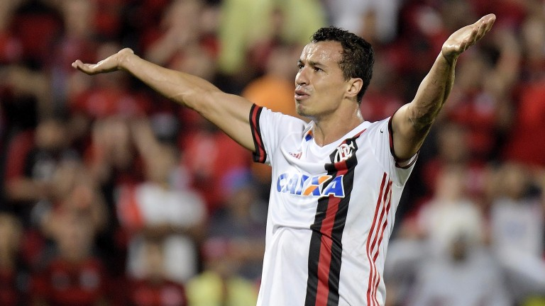 Leandro Damiaoa of Flamengo has scored in his last two matches