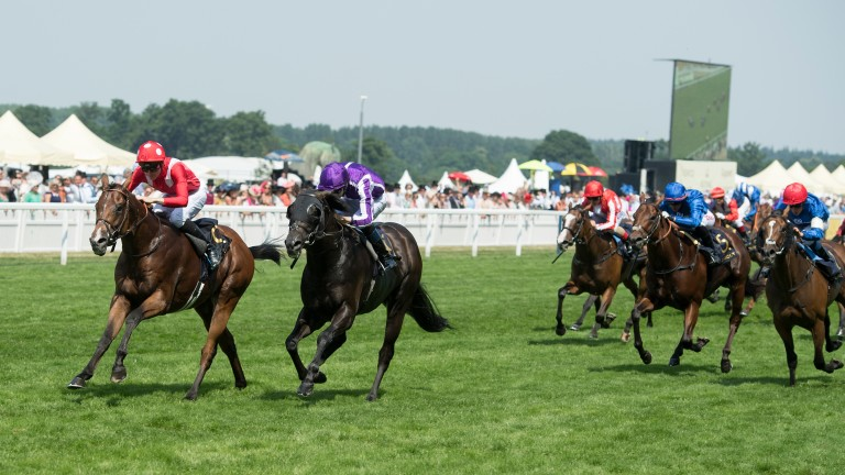 Ground conditions remained officially good to firm on the third day at Royal Ascot