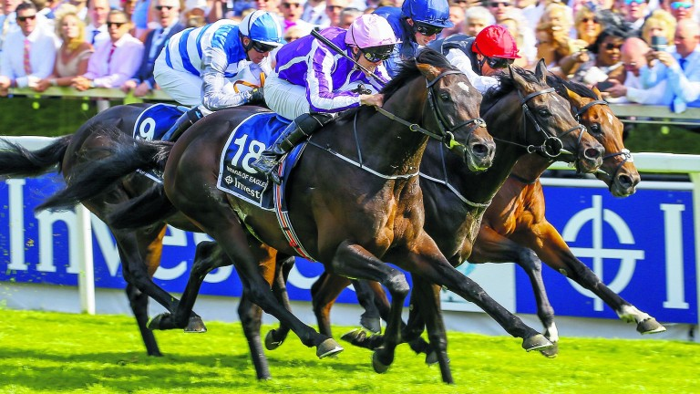 Wings Of Eagles will be ridden by Ryan Moore at the Curragh