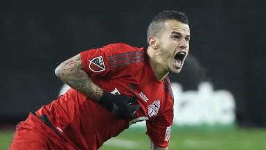 Toronto FC's Sebastian Giovinco