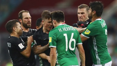 New Zealand showed plenty of fight against Mexico