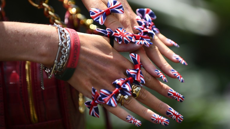 Best of British: all the colours of the union on display