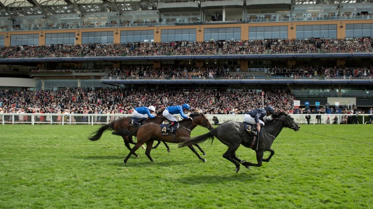 Caravaggio blows away his rivals to win the Commonwealth Cup at Royal Ascot