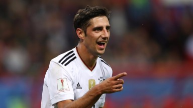 Lars Stindl has scored in both of Germany's Confederations Cup matches