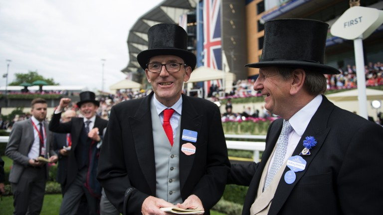 James Fanshawe has trained The Tin Man to win three Group 1s