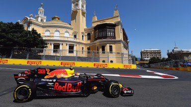 Max Verstappen has benefitted from an upgraded Renault engine