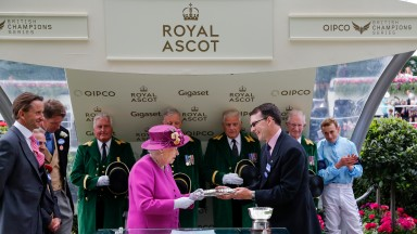 Coolmore ace Aidan O'Brien was top trainer at Royal Ascot again