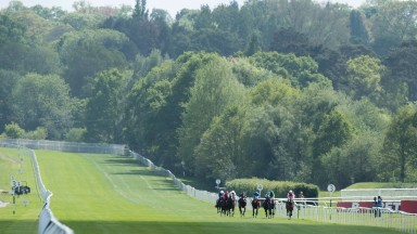 Lingfield: owner was able to shower and change at on-course hotel