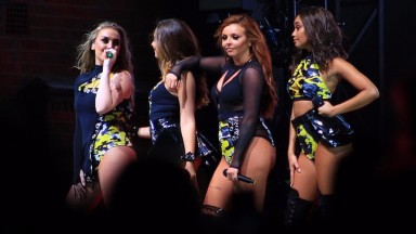 Little Mix at Newmarket