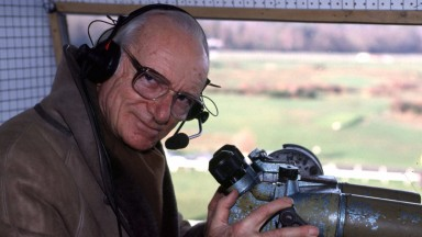 Sir Peter OSullevan, the 'voice of racing' for BBC Television will call his last winner home in the Hennessy Cognac Gold Cup in 'Grandstand' on Saturday, November 29 on BBC ONE.  Sir Peter's remarkable career behind the microphone  has spanned over half-a