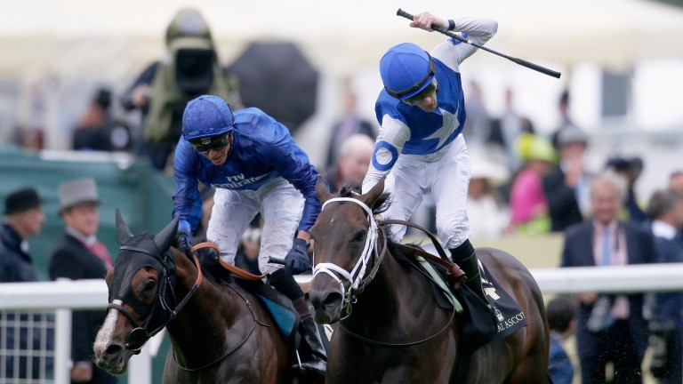 US raider Tepin (right) wowed at last year's royal meeting