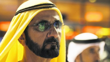 Sheikh Mohammed is sure of a warm welcome in Cornwall