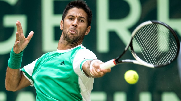 Fernando Verdasco continues to make progress on grass