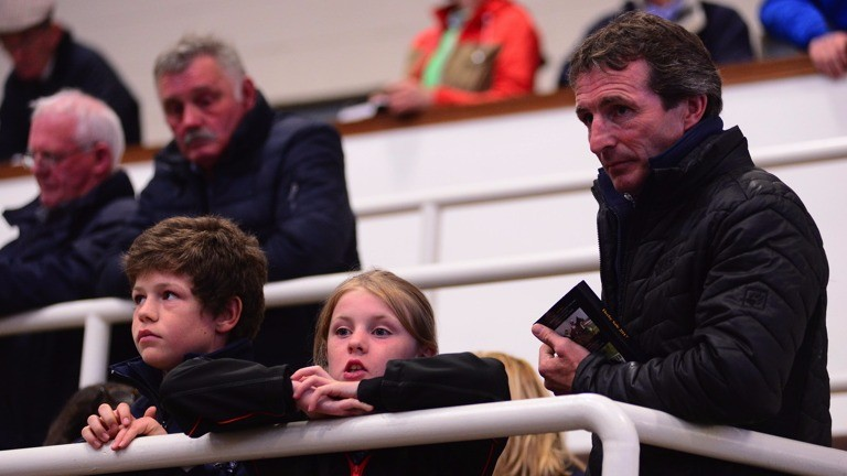 Norman Williamson and the next generation at Tattersalls Ireland