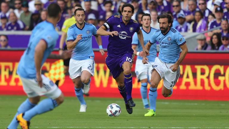 Kaka is having a tough time in front of goal for Orlando
