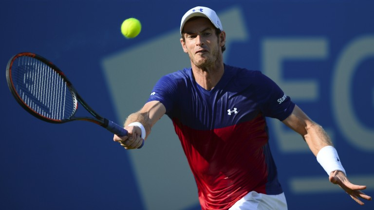 Andy Murray missed an exhibition match on Thursday
