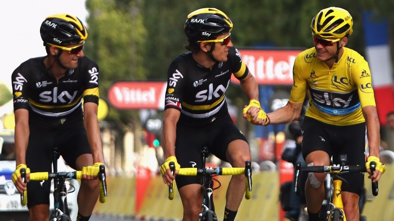 The race planners have made things tough for Chris Froome (right) and his Sky team