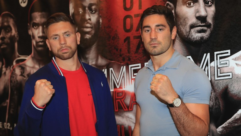 Ricky Summers and Frank Buglioni