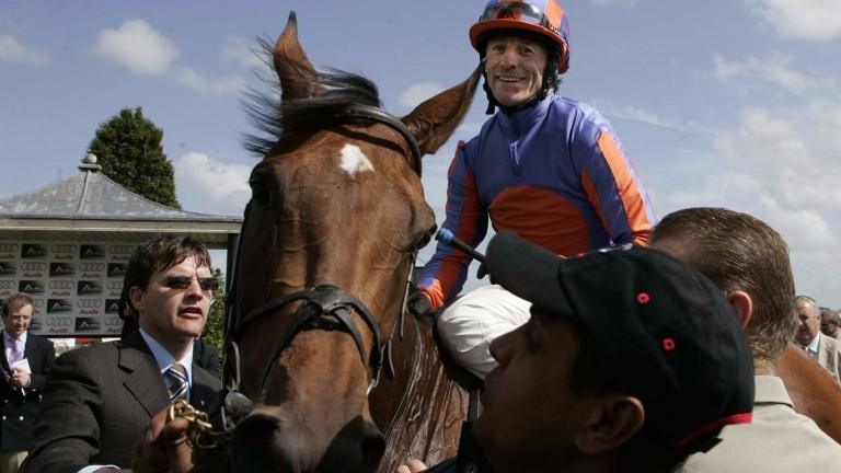 Can history repeat itself? Peeping Fawn (pictured) was second in the Oaks before winning the Pretty Polly