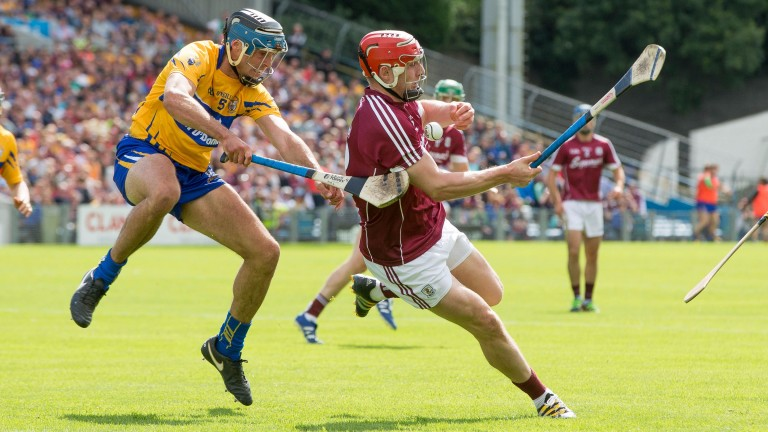 Joe Canning (right) has excelled in the playmaking role for Galway