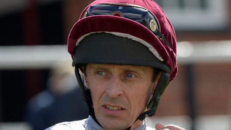 Ted Durcan: popular jockey set to be in action on all three days of Yarmouth's eastern festival meeting