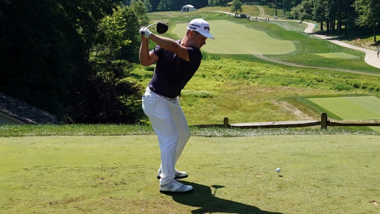 David Lingmerth leads by one shot at TPC Potomac