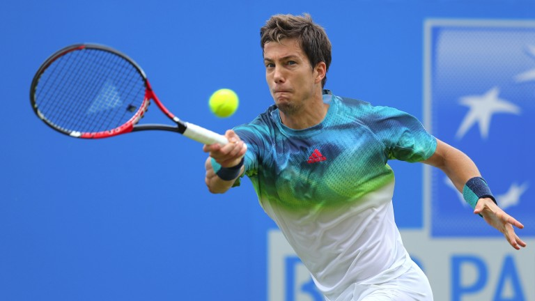 Aljaz Bedene has been in fine form in 2017 and could enjoy Wimbledon