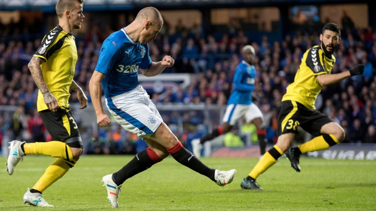 Kenny Miller bags a goal for Rangers