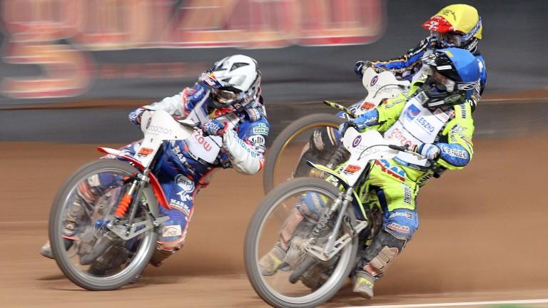 Fast Freddie Lindgren (right)