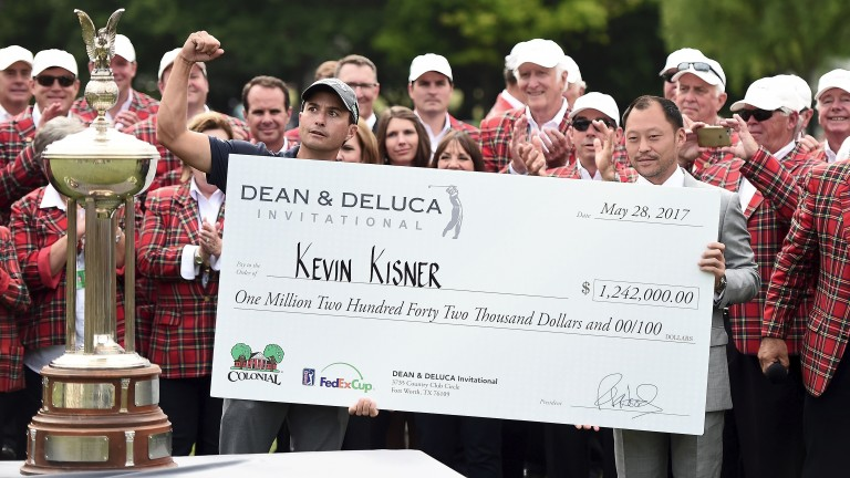 Kevin Kisner looks set for another healthy cheque