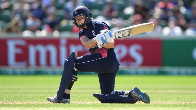 England captain Heather Knight hit a century in the defeat of Pakistan